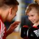 bamini kickboxen,Kampfsport für kleine Kinder